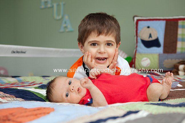 Brothers West orange NJ newborn photography