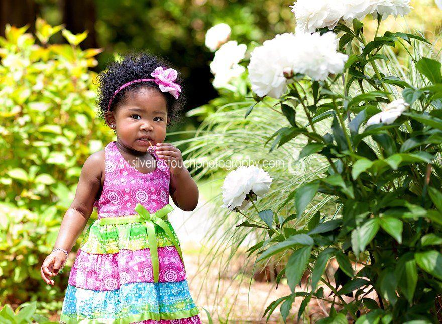 birthday girl Montclair NJ children Photography in the garden