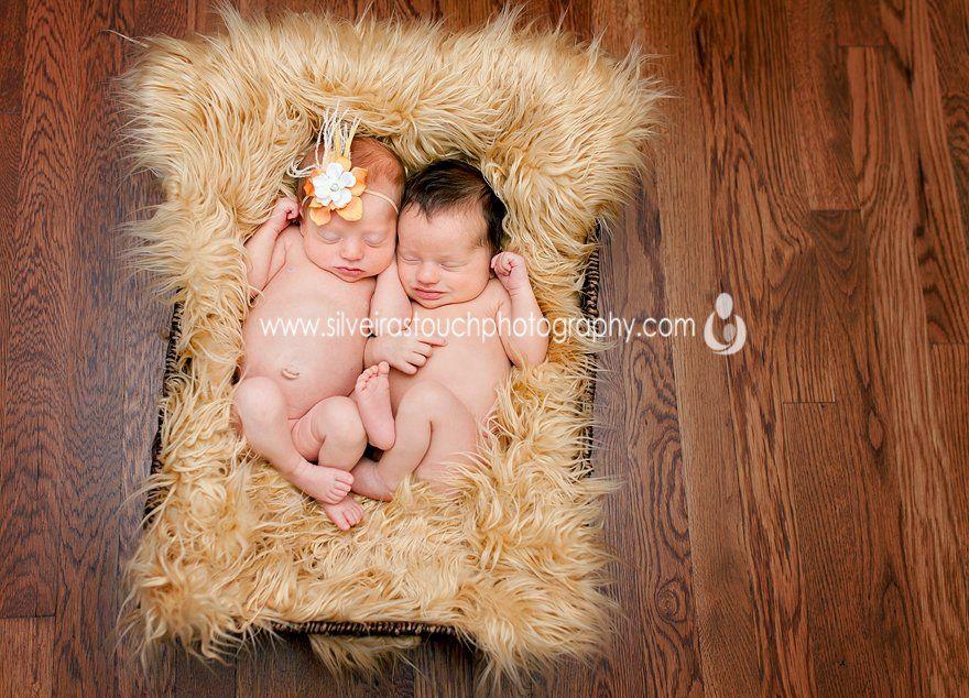 Bayonne NJ Newborn twin photography