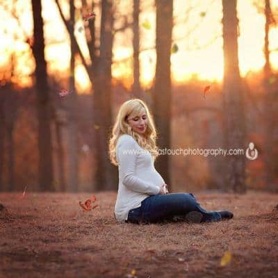 Verona NJ Maternity Photographer | Winter Glow