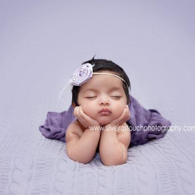 Newborn Photos 7 weeks old girl | Nutley NJ