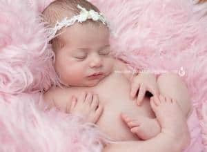 Newborn portrait livingston nj