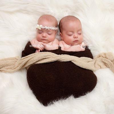 Two months Twins Newborn Photographer