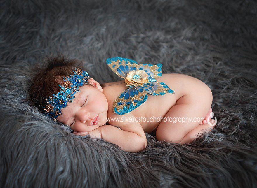 3-week-old princess newborn photography cedar grove NJ