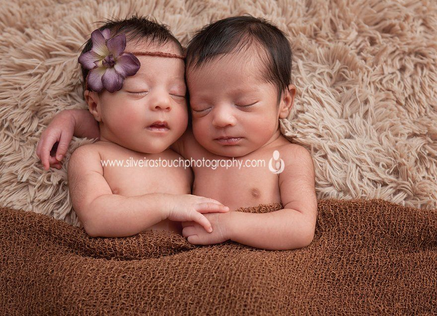 Morristown NJ Newborn twin photography