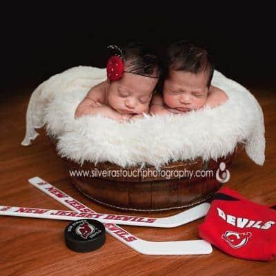 Two little miracles   Morristown NJ Newborn Photographer