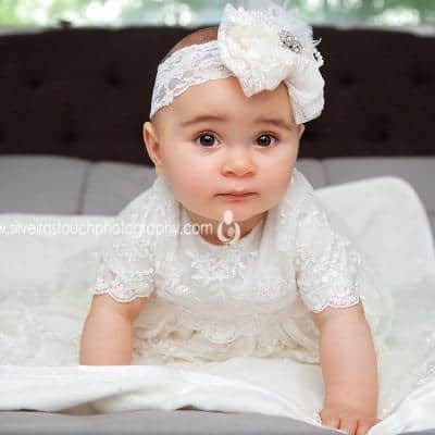 Christening princess | Cedar Grove NJ Children Photographer