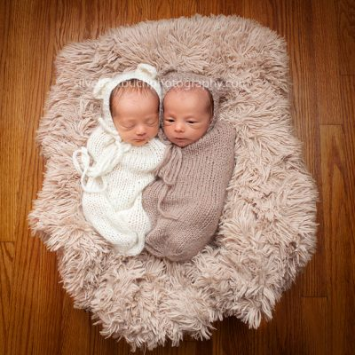 Miracle Twin Union NJ Newborn Photographer
