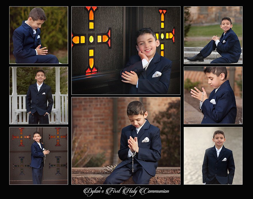 Mt. Olive NJ Communion Portraits