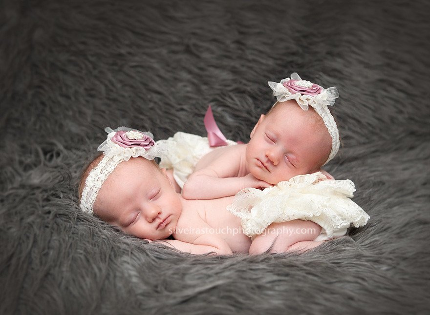 twin Newborn photography Short Hills NJ