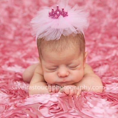 Livingston NJ Newborn Photographer | Pretty Baby girl