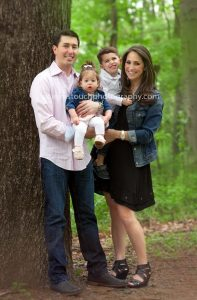 Parsippany NJ family portrait