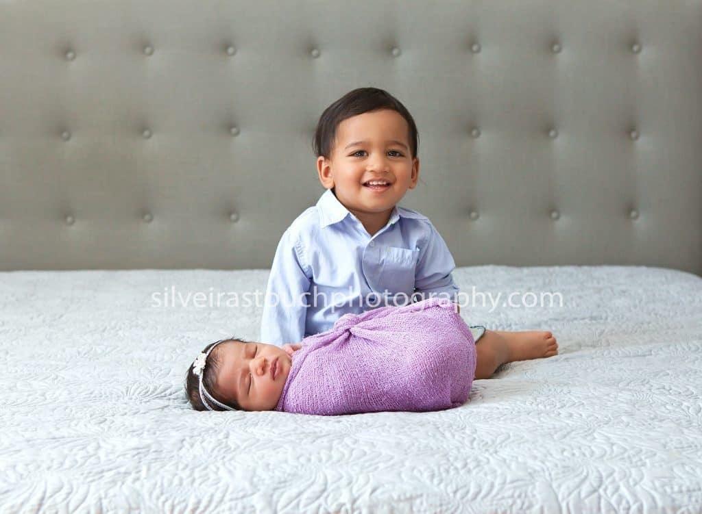 family photographer randolph nj with sibling photo