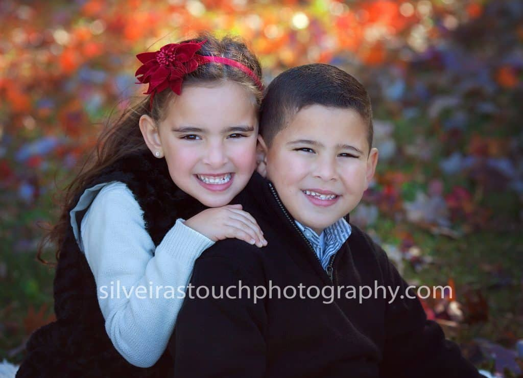 Children Photography in Verona NJ of sibling smiling