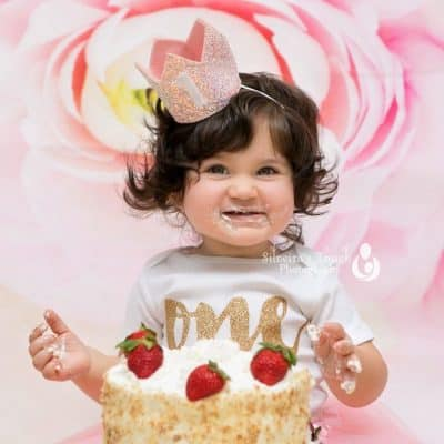first birthday Caldwell NJ Children Photographer
