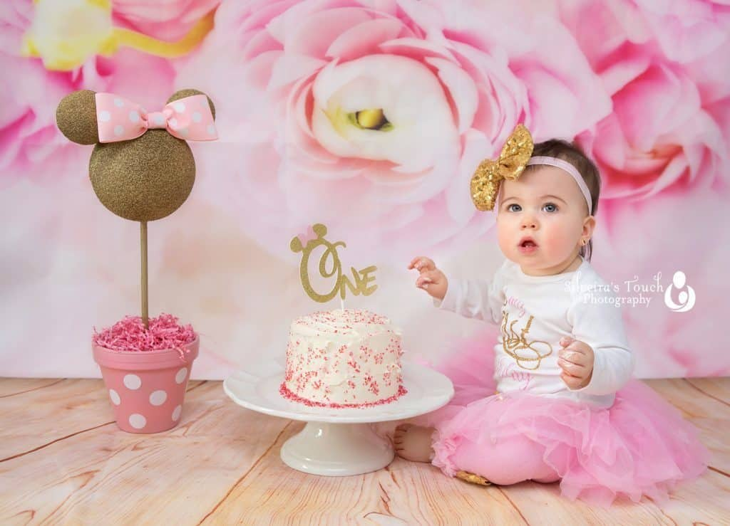 Birthday cake smash photography