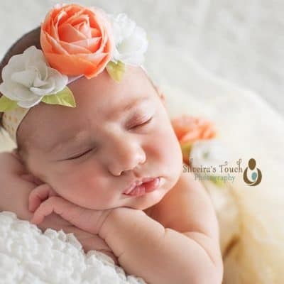 Jersey City Newborn Photographer | Baby Bella