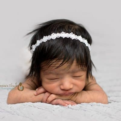 Tiny baby girl | Morris County NJ Newborn Photographer