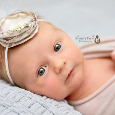 Tiny Blondie girl | Red Bank NJ Newborn Photographer