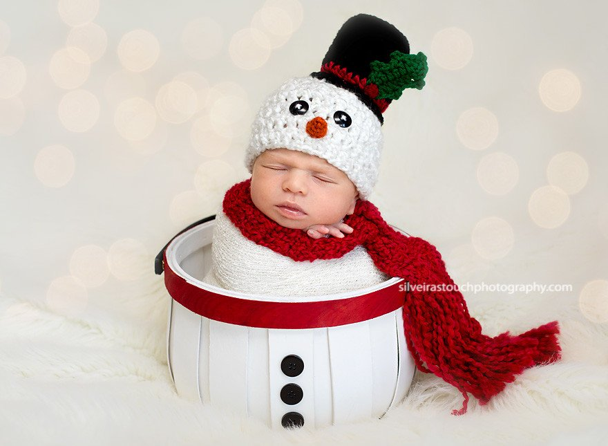 holiday baby boy West caldwell NJ photographer
