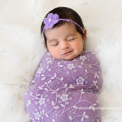 Newborn Photographer Livingston NJ | Pastel colors & beautiful baby