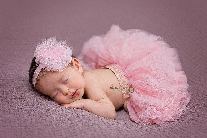 ballerina baby Mt Olive NJ Newborn photography