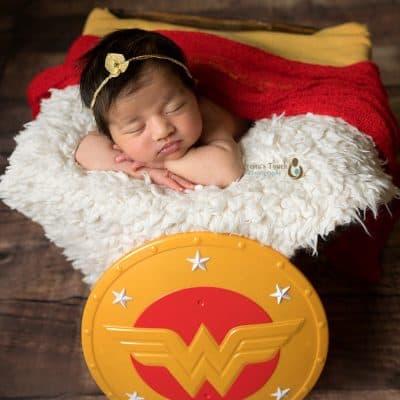Newborn baby girl session   S. Orange NJ