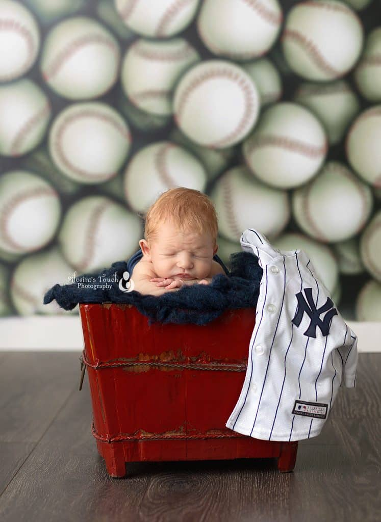 Yankees baby model, Mt. Olive NJ Photographer