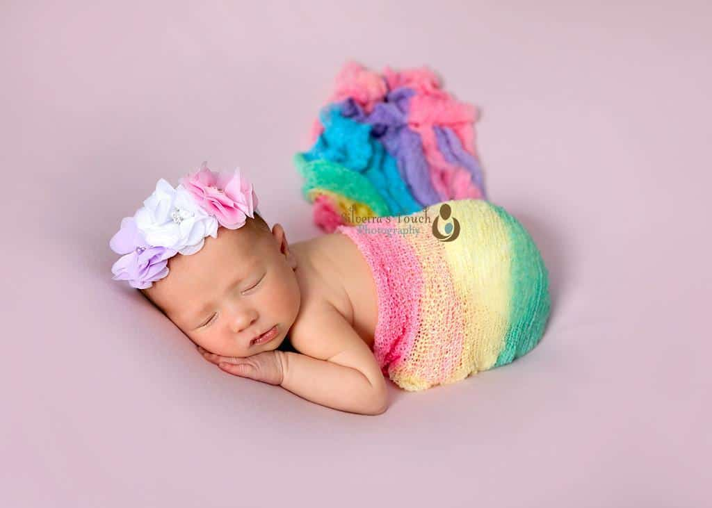 Rainbow Baby newborn Photos NJ