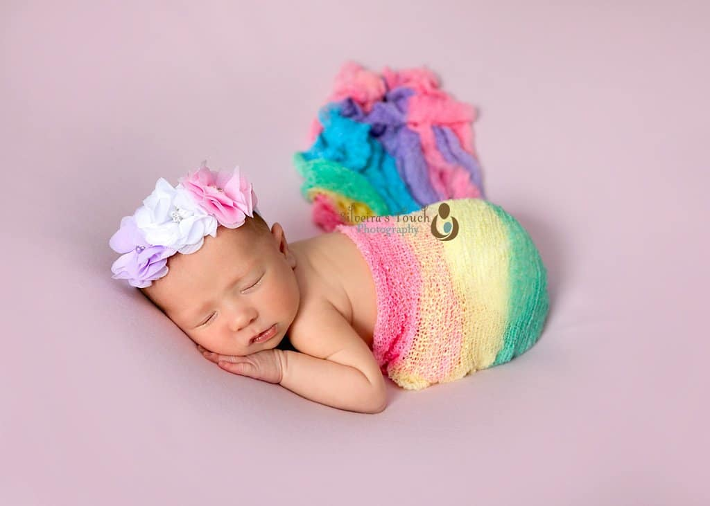Rainbow Baby newborn Photography NJ