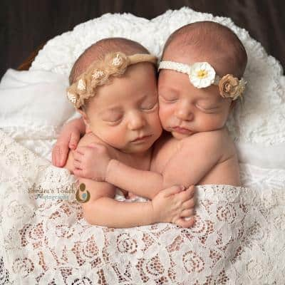 Twin Photography newborn session