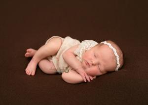 Randolph NJ Newborn Photography of cute baby sleeping