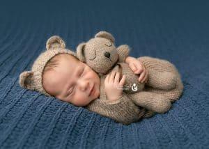 verona nj photography fuzzy baby bear outfit