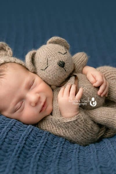 verona nj photography fuzzy baby bear outfit