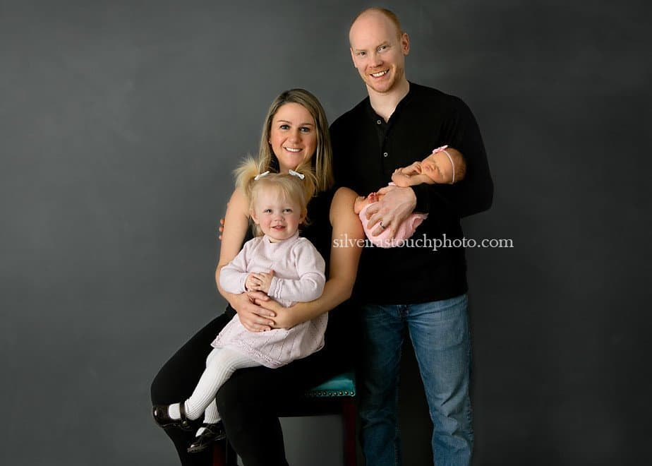 family newborn photography in morris county