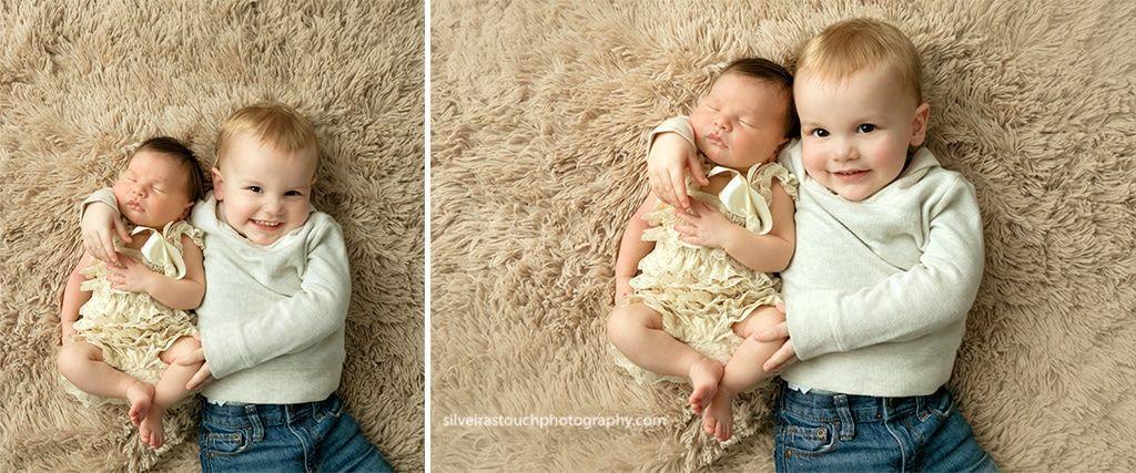 Flanders NJ Newborn Photography siblings