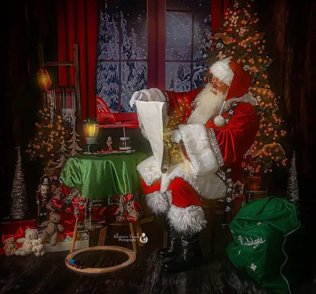 Santa experience in NJ studio
