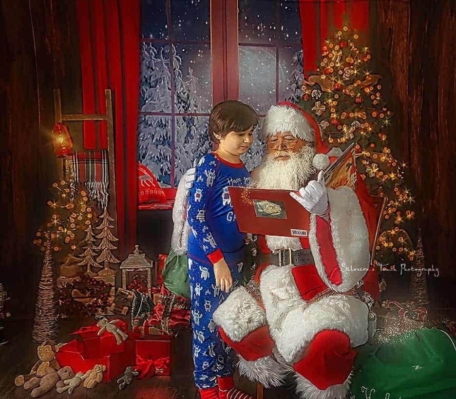 photoshoot children christmas