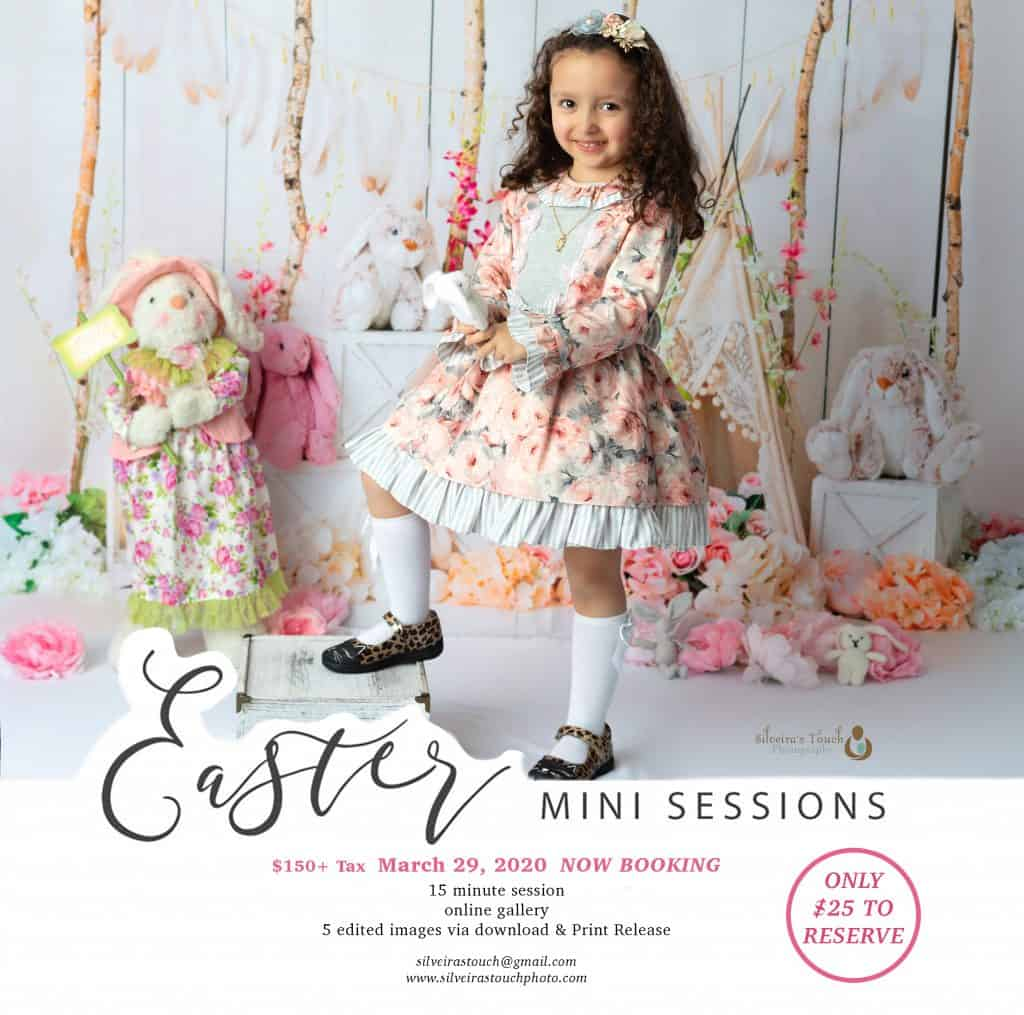 Mini special Easter dress