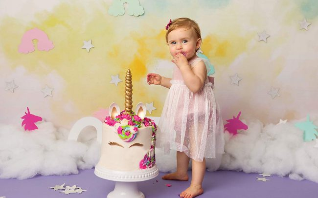 first birthday cake smash portraits new jersey