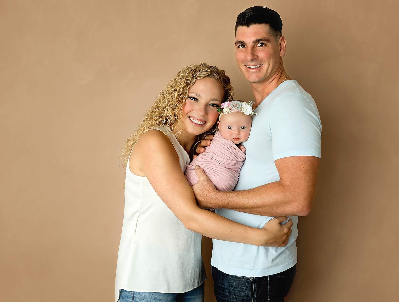 new jersey newborn baby photo session