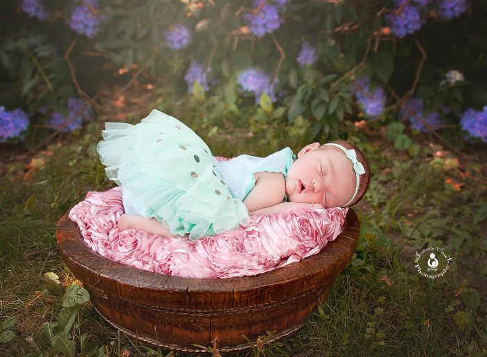 north jersey lifestyle newborn outdoor photography