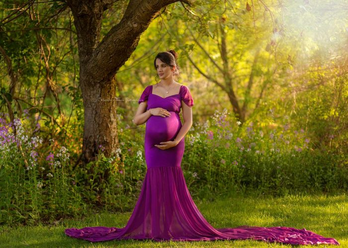 outdoor maternity portrait Dover NJ