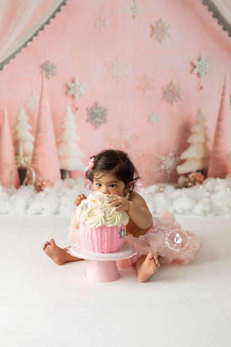 cake smash birthday photos NJ
