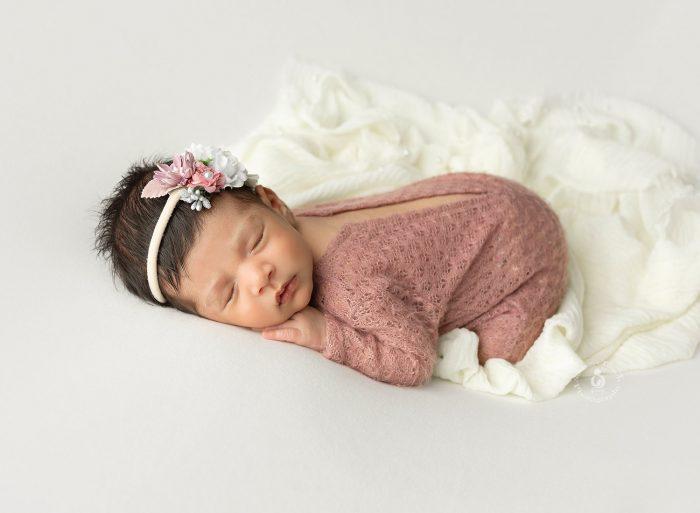NJ newborn girl photography