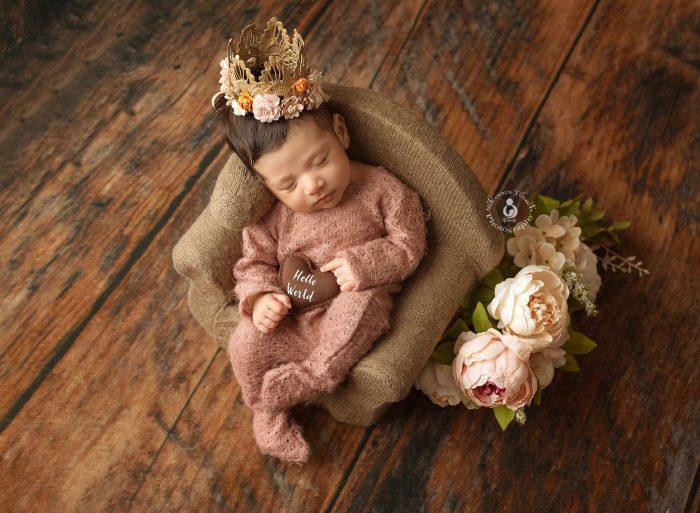 newborn girl photography nj
