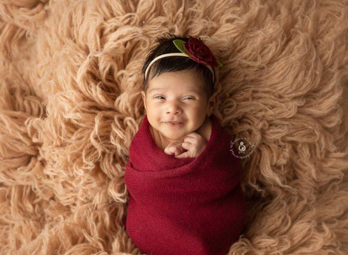 nj newborn photographer baby girl