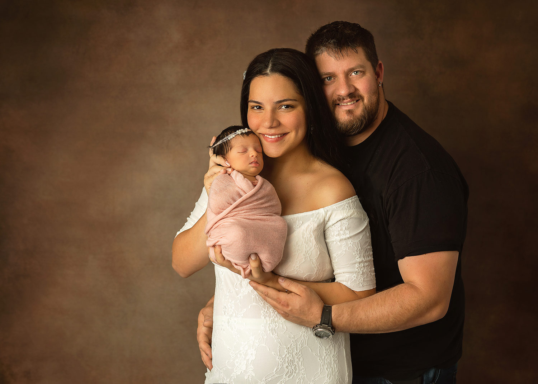 mount olive nj newborn family portrait